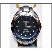 Reloj Fossil Quinn Acero Inoxidable Resistente Al Agua 100 M