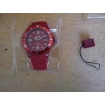 Reloj Ice Rojo Nuevo!