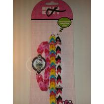 Reloj Pulseras Ligas Hello Kitty! Nuevo