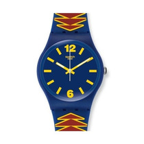 Reloj Swatch Para Mujer Nuevo Mexican Mask Original Unitalla