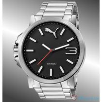 Reloj Puma Caballero Plata Con Negro Pu103461003