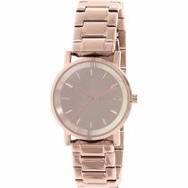 Reloj Dkny Tompkins Rose Gold Tone Ny22179 | Watchito