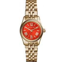 Reloj Michael Kors Lexington Petite Mk3284 Dorado Acero