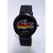 Reloj Hombre Lacoste Excelente Negro Regalo Alemania