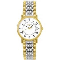 Reloj Longines Presences L47202117 En Dos Tonos