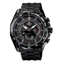 Tb Reloj Casio Ef-550pb-1av Edifice Black Label Chronograph