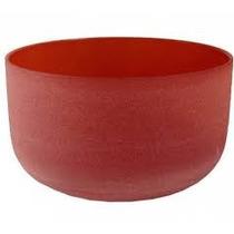 Cuencos Cuarzo Esmerilado Color Rojo