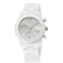 Reloj Gucci G-chrono Lg Chrono Blanco Cerámica Ya101353
