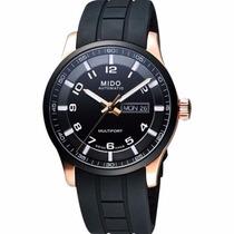 Reloj Mido Multifort Automático Caucho Negro M0054303705709
