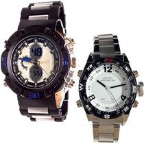 Reloj Tipo Casio Sgw Led Contra Agua Luz Shock Envio Gratis