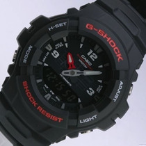 Reloj Casio G Shock G-100-1v Anadigi Wr200m Antimagnetico