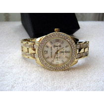 Hermoso Reloj Michael Kors Espectacular / Oro Subasta 1 Peso