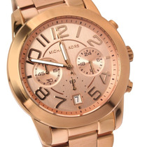 Reloj Michael Kors Mk5727 Mercer Rose Gold Watch