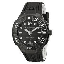 Reloj Technomarine Cruise Silicon Negro 513003 Garantia