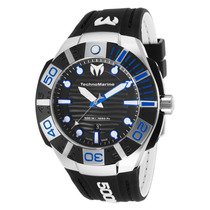 Reloj Technomarine Black Reef Silicon Negro 513001