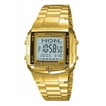 Reloj Casio Db-360 Vintage Gold Data Bank Dorado 30 Memorias