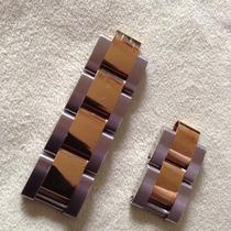 Eslabones Rolex De Dama Extensible Oyster Oro Acero Nuevos