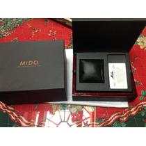 Estuche Reloj Mido Multifort Edición Limitada Original