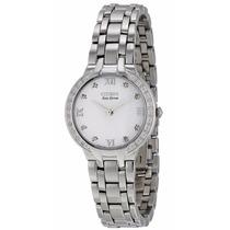 Reloj Citizen Eco-drive Bella Acero Mujer Blanco Em0120-58a