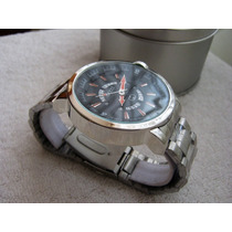 Precioso Reloj Gucci Acero Fechador Grande Subasta 1 Peso