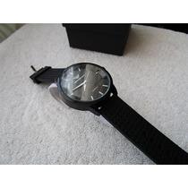 Precioso Reloj Emporio Armani Negro 45.mm Subasta 1 Peso
