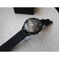 Excelente Reloj Emporio Armani 45.mm / Negro Subasta 1 Peso