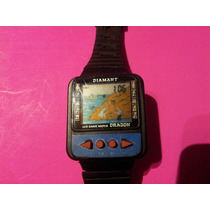 Reloj De Pulsera Vintage Diamant Dragon Lcd Game Watch