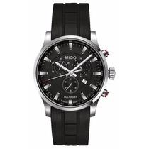 Reloj Mido Multifort Crono Caucho Negro M0054171705120