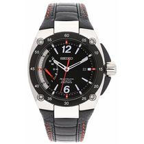 Reloj Seiko Sportura Kinetic Direct Drive Negro Srg005p2