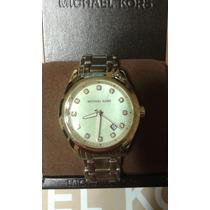 Wow! Padrisimo Reloj Dorado Marca Michael Kors 100% Original