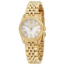 Reloj Mujer Michael Kors Lexington Dorado Blanco Mk3229