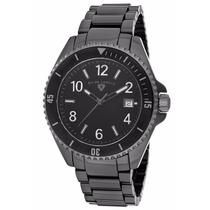 Reloj Swiss Legend Luminar Ceramica Negro 11528-bkbwba