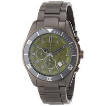 Reloj Bulova Marine Star Acero Color Pólvora 98b206 Garantia