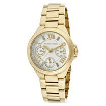 Reloj Dama Michael Kors Camille Acero Color Oro Mk5759