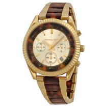 Reloj Dama Michael Kors Clarkson Acero Oro Rosado Mk5963