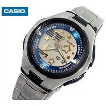 Relojes Casio Estandar Para Dama Lcf10d Azul W Time Poptone