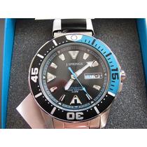 Reloj J Srpings Beb044 Automático Día Y Fecha Wr100m