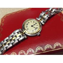 Cartier Panthere Ronde Acero Oro 18k Dama Pasa Por Nuevo