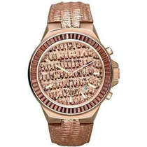Reloj Michael Kors Mk2305 Rosa Cristal Envio Gratis Mujer