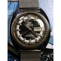 Reloj Royce Vintaje 25 Joyas Suizo Tipo Buzo 60