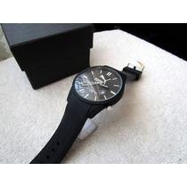Moderno Reloj Puma Negro Fechador Subasta 1 Peso