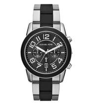 Reloj Michael Kors Mercer Acero Inoxidable, Negro, Mk8321