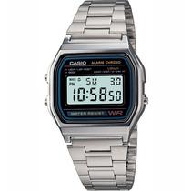 Reloj Casio Retro Vintage A158 Plateado 100% Original