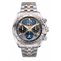 Reloj Citizen Eco-drive Moon Phase Flyback Café Av3006-50h