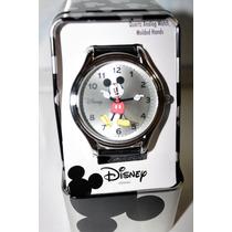 Reloj Mickey Mouse- Original Disney, Nuevo- Estuche Metalico