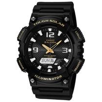 Reloj Casio Aqs810 Solar En Diferentes Colores100% Original