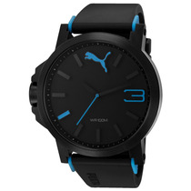 Puma Ultrasize Blue 50mm Diametro Azul Reloj Time. Diego Vez