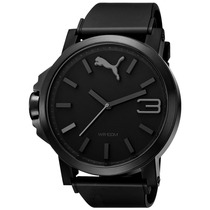 Puma Ultrasize Black 50mm Diametro Negr Reloj Time Diego Vez