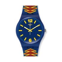 Reloj Swatch Para Mujer Mexican Mask Gn235 Nuevo Original