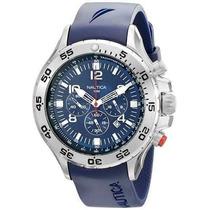 Reloj Nautica N14555g Nst- Azul